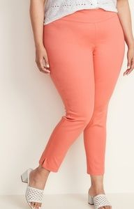 OLD NAVY - High-Rise Side-Zip Plus-Size Pants/ 24